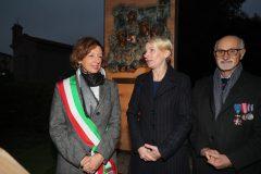 Sindaco sig.ra Sangiorgi e Console di Polonia,  Adrianna Siennicka